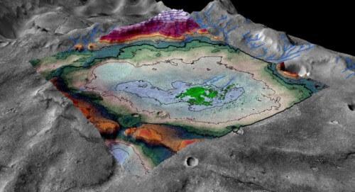 Scoperto un vasto deposito di sale su Marte