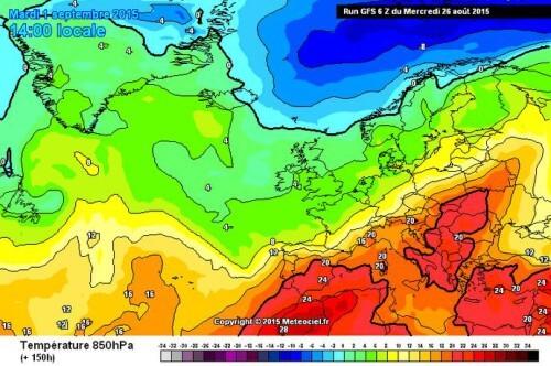 Tendenza meteo: caldo e stabilità in arrivo, da Settembre si cambia registro