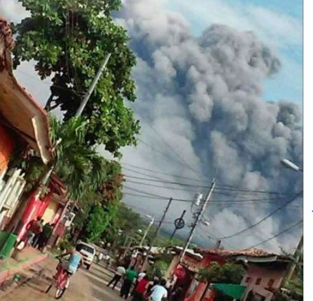 Improvvisa eruzione del vulcano Telica, allerta in Nicaragua