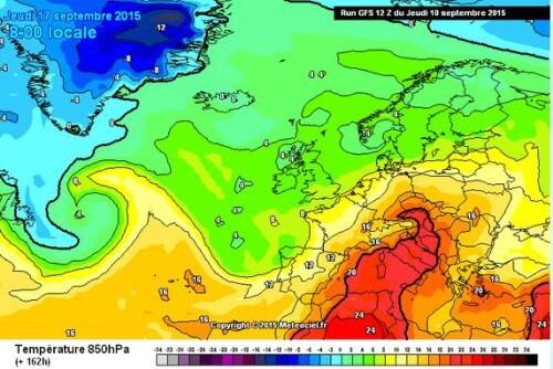 Caldo in arrivo sull'Italia, possibili over 34°C a metà mese