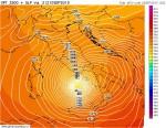 Possibile ciclone mediterraneo al Centro-Sud tra 10 e 12 Settembre