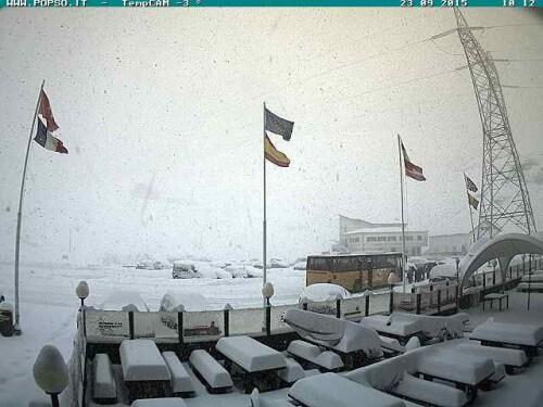 Neve al Nord Italia: prime bufere sopra i 2000 metri, allo Stelvio 50 centimetri