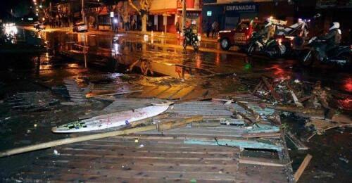 Tsunami a Coquimbo