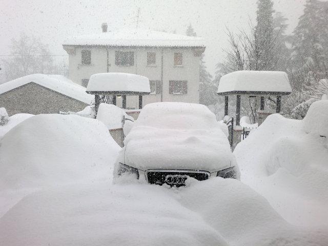 Adriatic Snow Effect: fenomeno artefice di grandi nevicate sull'Adriatico