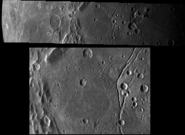 Caronte, le immagini del Vulcan Planum