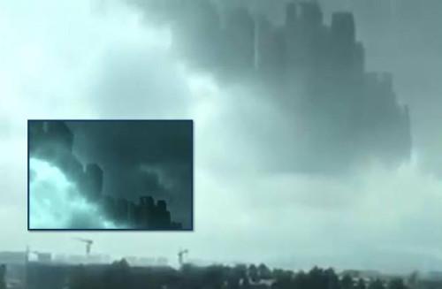 Un città sospesa nei cieli della Cina: la NASA fornisce la spiegazione