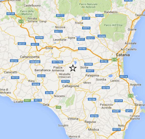 Doppia scossa di terremoto avvertita in Sicilia, epicentro in provincia di Catania