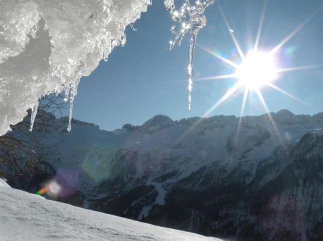 Scioglimento ghiacciai, il Gigante dei Forni si spacca in tre parti