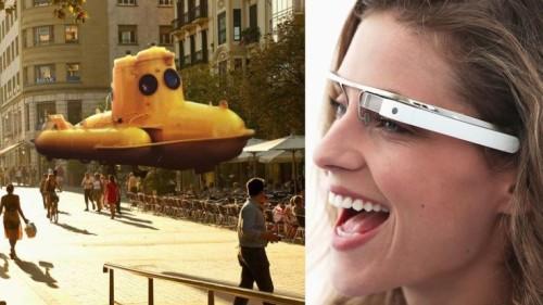 Con i prossimi Google Glass sarà possibile osservare gli ologrammi