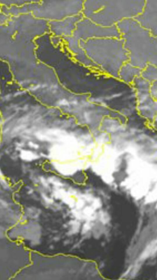 Maltempo Sicilia: nottata di violenti temporali e nubifragi