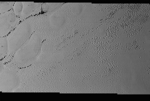 Plutone, le strane formazioni nella Sputnik Planum