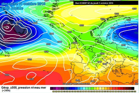 Prima ondata gelida sull'Europa attorno all'8-10 Ottobre?