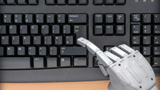 Tecnologia, in arrivo il robot giornalista