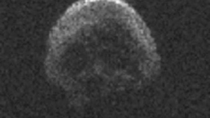 L'Asteroide di Halloween assomiglia ad un teschio umano