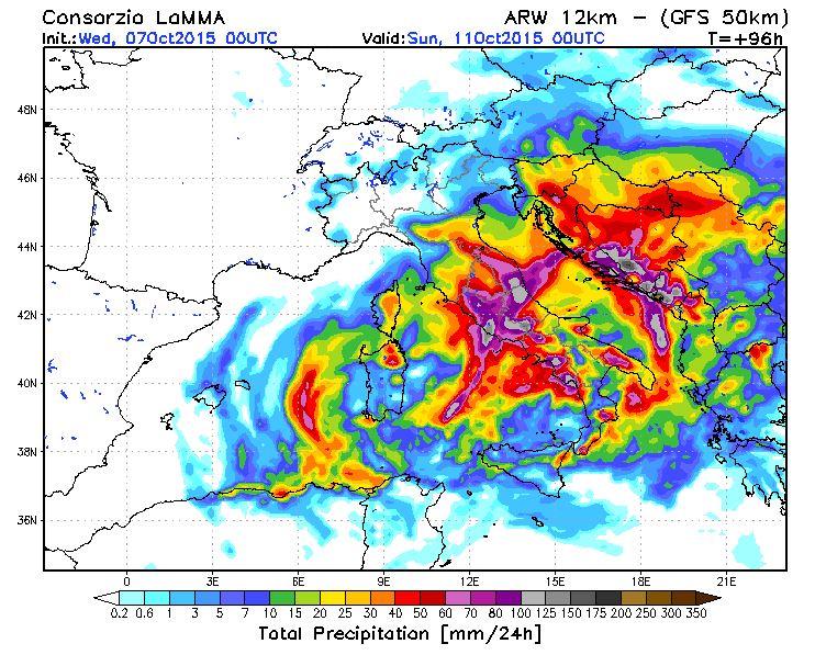 Meteo week-end: violenta perturbazione in arrivo al Centro-Sud, nessun ciclone