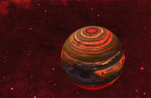 PSO J 318 5-22: un pianeta extrasolare infernale, dove piove Ferro