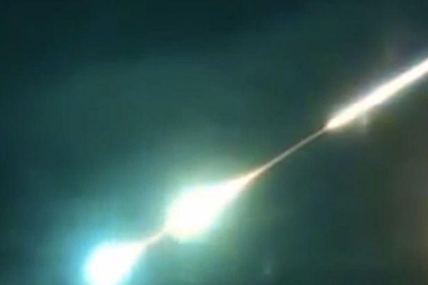 Čita: asteroide brucia nell'atmosfera russa
