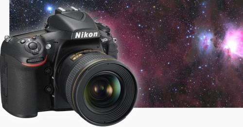 Nikon D 810 A: fotografare lo Spazio con la nuova reflex