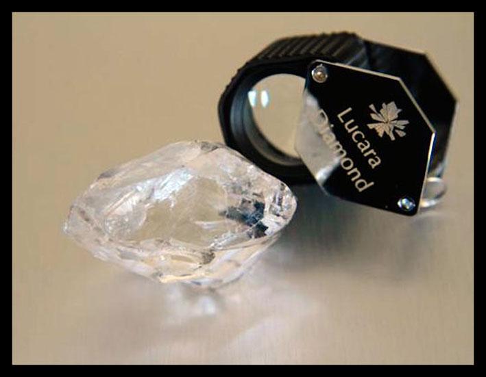 Diamante più grande del mondo in questo secolo trovato in Botswana