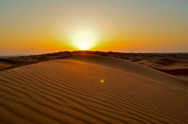 Il magico canto delle dune del deserto: i granelli di sabbia compongono la melodia