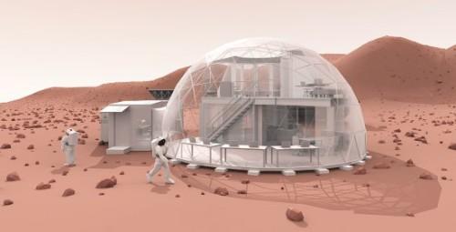 Chiusi in una cupola per testare l'ipotesi di vivere su Marte