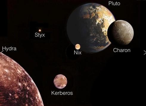 Le Lune di Plutone ruotano su loro stesse a velocità impressionante