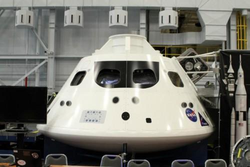 Navicella Orion: il modello prova è ora alla NASA