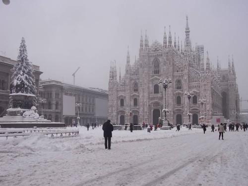 Prima neve al Nord Italia, anche in pianura, in arrivo?