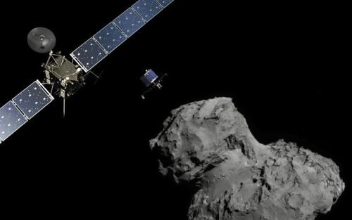L'acqua sulla cometa Cyrumov-Gerasimenko non è uguale a quella degli Oceani sulla Terra