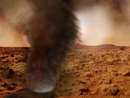 Marte: verità sulle tempeste di polveri del pianeta rosso