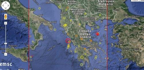 Terremoto oggi Grecia: violenta scossa di magnitudo 6.5 Richter avvertita in Italia