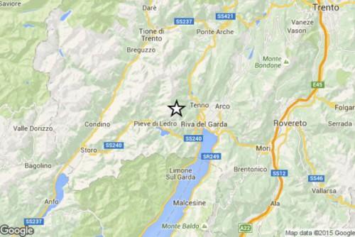 Terremoto Lombardia Trentino Alto Adige 1 Novembre 2015: magnitudo 3.0 Richter