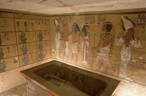 Una camera nascosta nella tomba di Tuthankamon