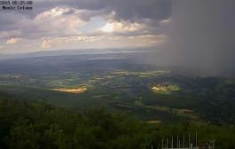 Monte Cetona: meravigliosa webcam monitora le condizioni meteo-climatiche
