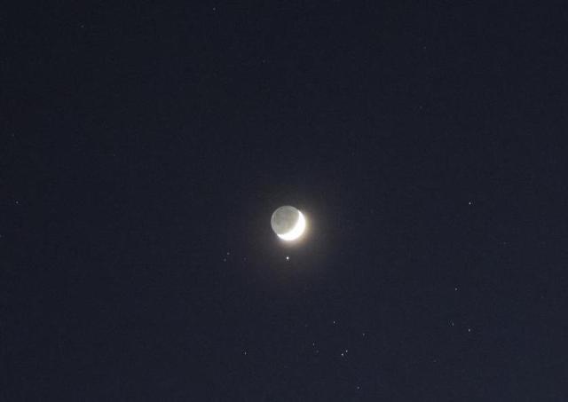 Aldebaran oscurata dalla Luna
