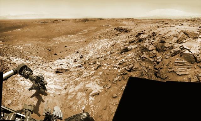 NASA, Curiosity: nelle rocce di Marte c'è una misteriosa concentrazione di silice