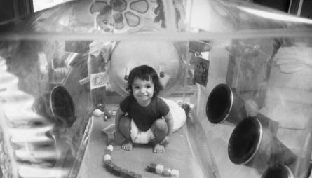 David Vetter, il bambino bolla, con la Scid che fece commuovere il mondo