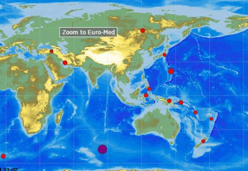 Terremoto Oceano Indiano, violenta scossa di magnitudo 7.1 Richter