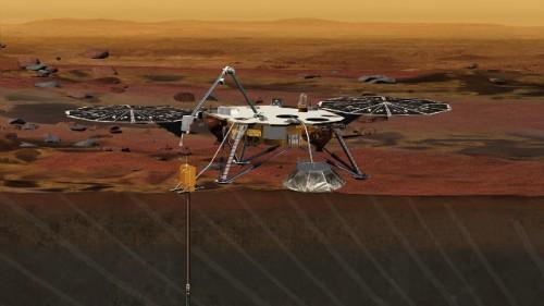 NASA: la missione InSight su Marte posticipata per un problema tecnico