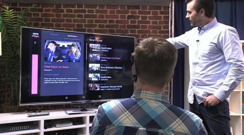 La BBC progetta Mind Control Tv: il primo telecomando virtuale