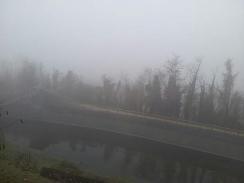 Nebbie al Nord Italia: inquinamento a livelli record