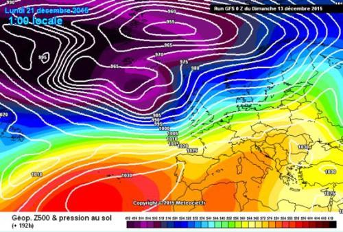 Tendenza meteo: inverno al tappeto, Dicembre a rischio caldo e siccità sull'Italia
