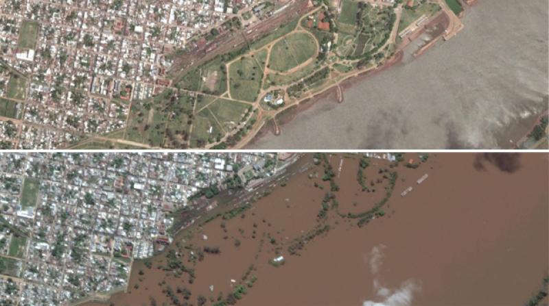 El Nino causa maxi alluvioni in Sud America