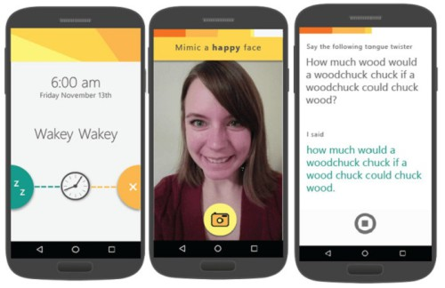 Microsoft, ecco l'innovativa app Mimicker Alarm