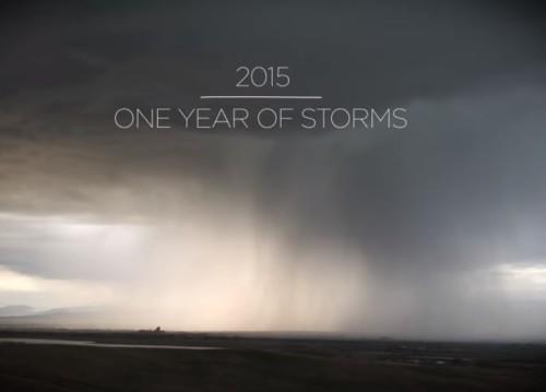 NASA, tutte le tempeste del 2015 in un video