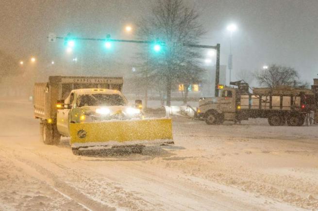 Tempesta Jonas, Stati Uniti paralizzati da freddo e neve