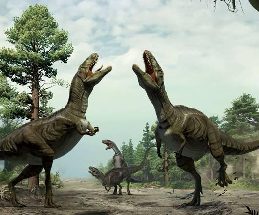 Dinosauri, la danza rituale per corteggiare le femmine