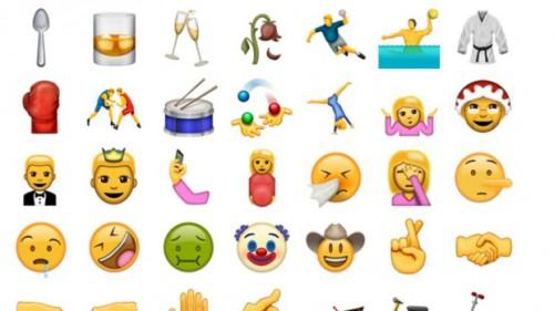 Emoticon, ecco tutte le novità del 2016