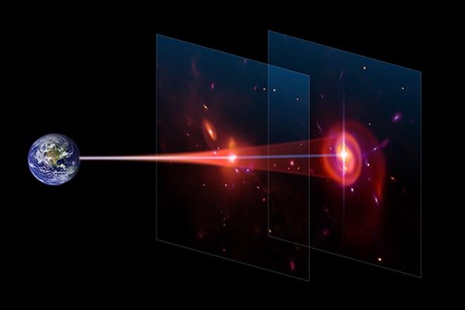 Le nubi di gas e l'origine delle prime galassie