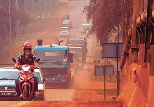 Malesia, gli incredibili effetti dell'inquinamento della bauxite